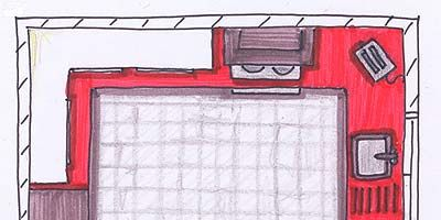 Red, Pink, Line, Pattern, Rectangle, Artwork, Parallel, Magenta, Illustration, Drawing,