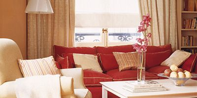 Wood, Room, Interior design, Living room, Floor, Home, Textile, Window covering, Furniture, Flooring,