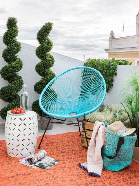 Outdoor furniture, Shrub, Mesh,