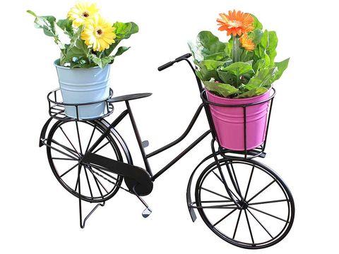 Alegra y llena de plantas tu jard n - Bicicleta macetero ...