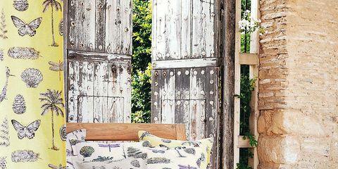 Wall, Wallpaper, Cushion, Brick, Throw pillow,