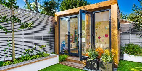 Las Casetas Mas Bonitas Que Querras En Tu Jardin Este Verano - Caseta-para-terraza