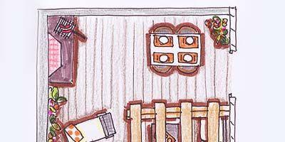 Line, House, Art, Magenta, Parallel, Home, Artwork, Illustration, Rectangle, Door,