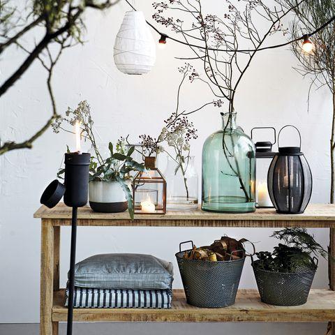 Decorar Con Plantas De Interior - Plantas-secas-decoracion