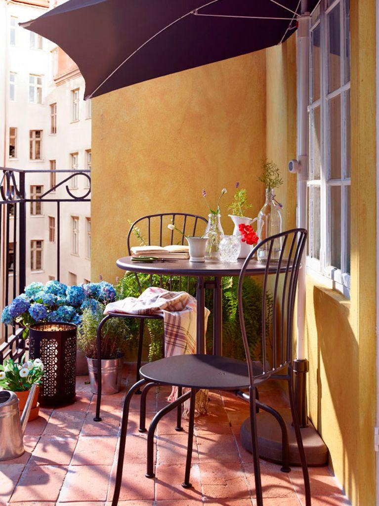 Balcones Y Terrazas Pequeñas Con Mucho Encanto