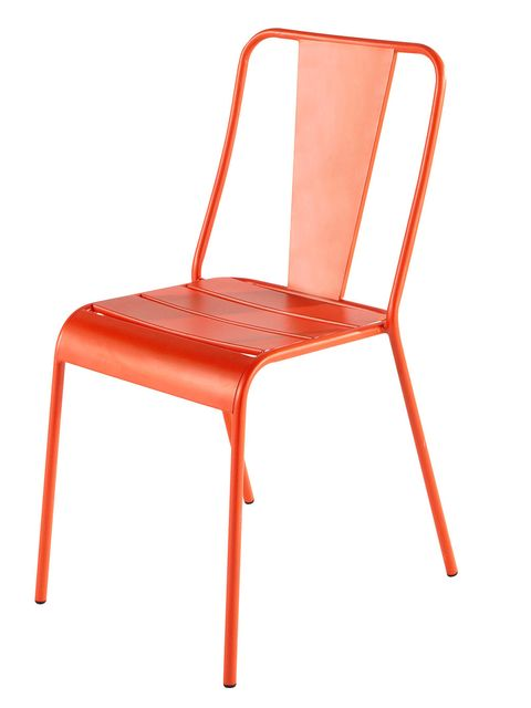 Product, Red, Orange, Chair, Furniture, Line, Tan, Material property, Peach, Plastic,