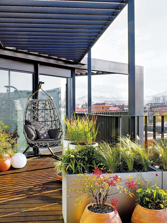 Ideas decorativas para terraza patio o balcn
