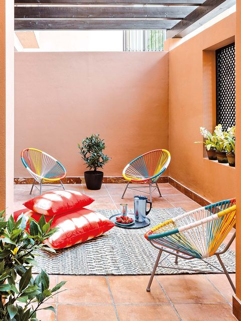 Net, Outdoor furniture, Basketball hoop, Houseplant,