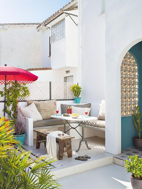 18 ideas para decorar espacios exteriores - Decoracion patios exteriores ...