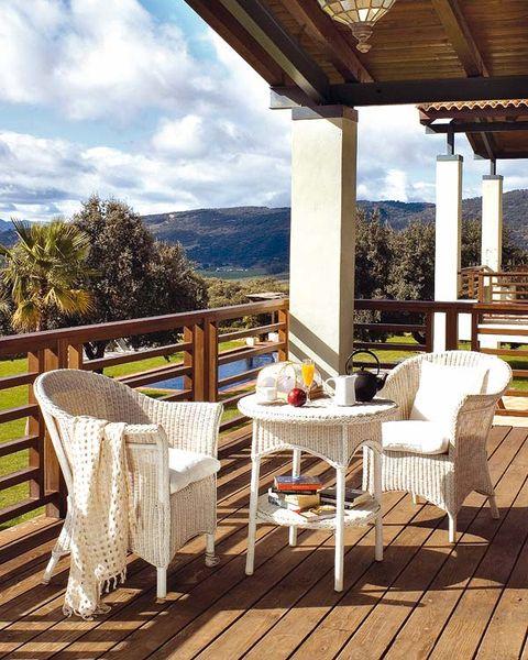 Diez ideas para decorar tu terraza for Amazon muebles terraza