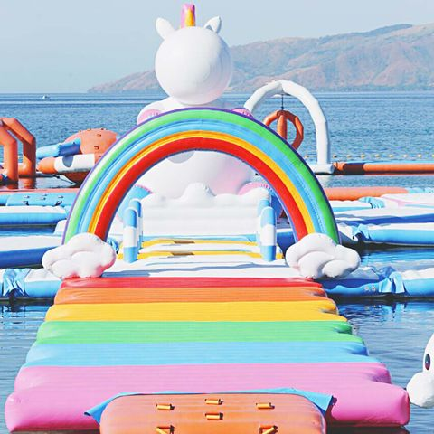Inflatable, Games, Product, Architecture, Summer, Sky, Boat, Recreation, bounce house, Leisure,