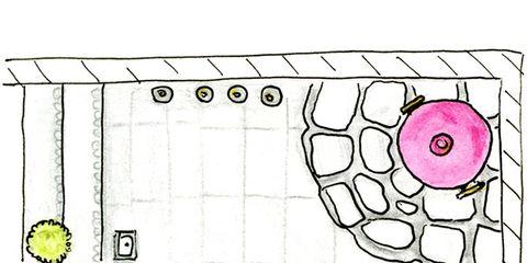 Yellow, Line, Parallel, Rectangle, Illustration, Artwork, Design, Drawing, Circle, Child art,