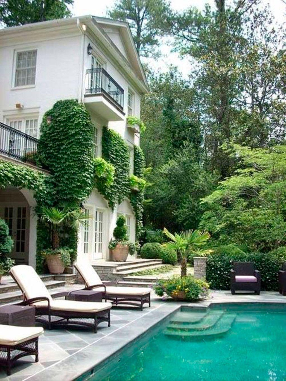 increíbles ideas de patio pequeño 33 Jardines Con Piscinas De Ensueo