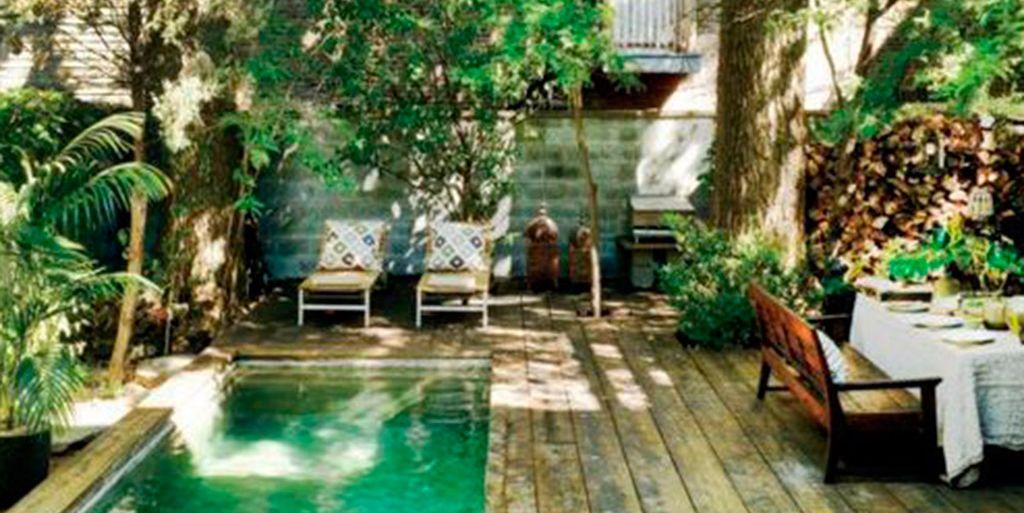 33 Jardines Con Piscinas De Ensueño