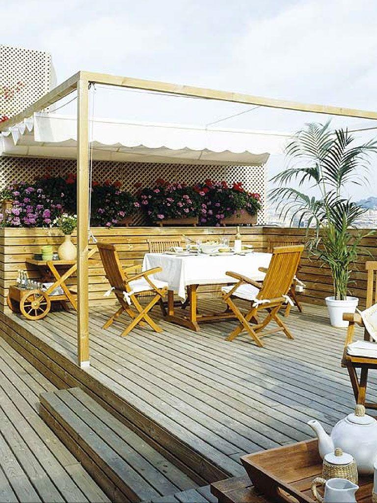 Muebles para un comedor al aire libre