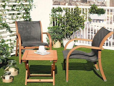 Muebles de jardín: novedades