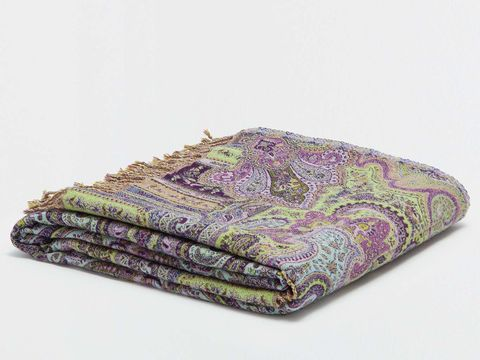 Purple, Textile, Violet, Lavender, Magenta, Motif, Visual arts, Paisley, Wallet, Coin purse,