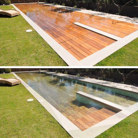 No es necesario renunciar a tu patio para tener piscina