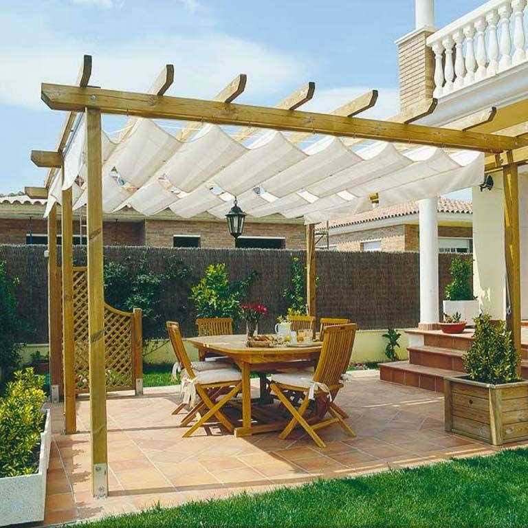 Prgolas y toldos para la terraza o el porche