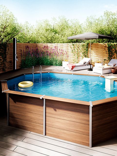 Swimming pool, Property, Jacuzzi, Leisure, Backyard, Jacuzzi, Rectangle, Swimming machine, Deck, House,