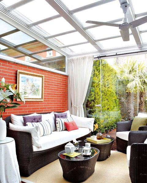Porches y terrazas: ¿Dentro o fuera?