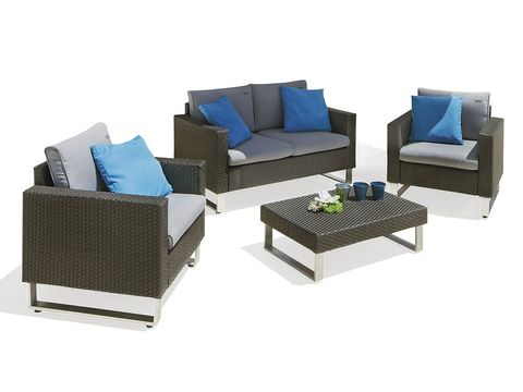 Blue, Furniture, Couch, Outdoor furniture, Pillow, Throw pillow, Living room, Rectangle, Turquoise, Outdoor sofa,