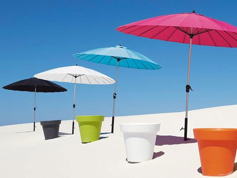 Umbrella, Blue, Product, Shade, Plastic, Cup, Cup, Outdoor furniture,