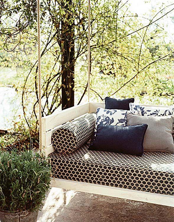 Telas frescas para vestir tu jardín y terraza