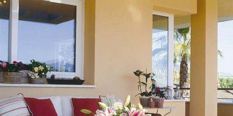 Interior design, Room, Furniture, Table, Glass, Interior design, Fixture, Coffee table, Couch, Home,