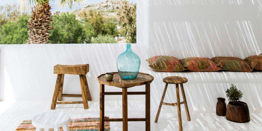 Terrazas decoradas con damajuanas la leyenda nunca muere for Amazon muebles terraza