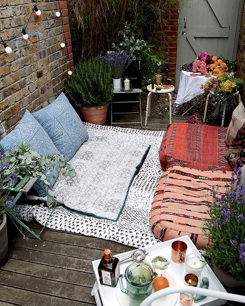 patio con chill out