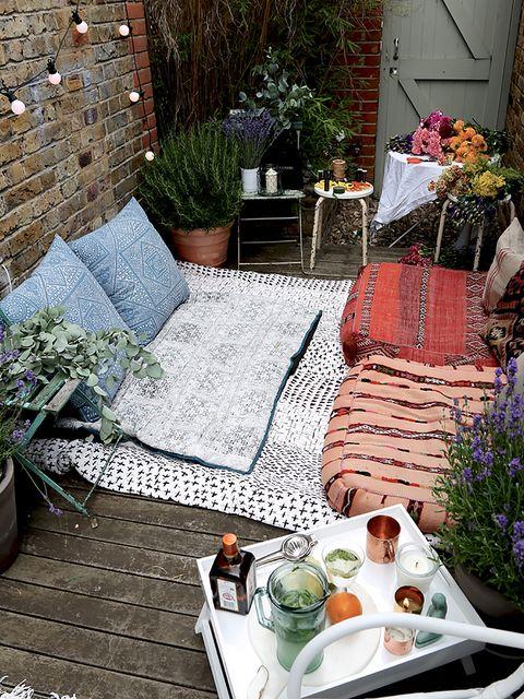 Plant, Dishware, Flowerpot, Serveware, Tablecloth, Cuisine, Interior design, Linens, Meal, Garden,