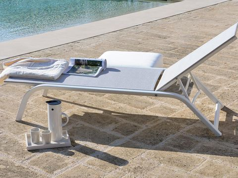Outdoor furniture, Sunlounger, Aluminium, Outdoor table, Outdoor bench,
