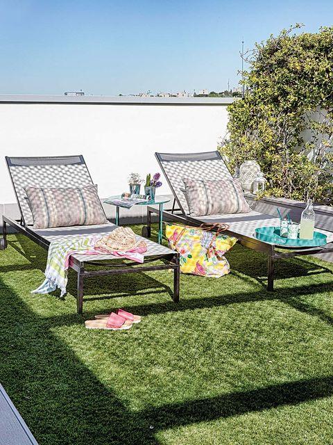 Green, Grass, Furniture, Lawn, Garden, Yard, Tree, Botany, Architecture, Home,