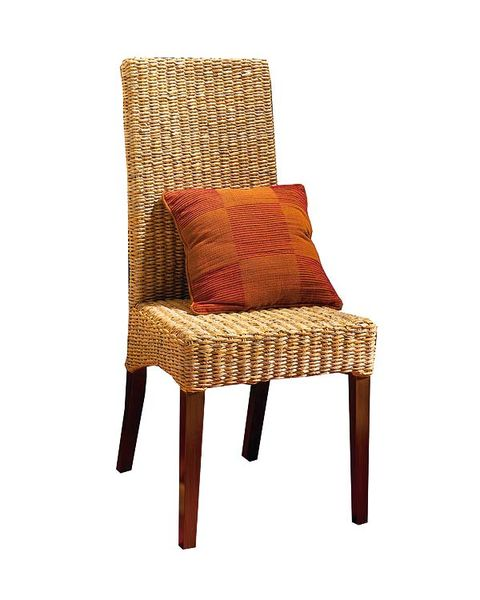 Brown, Furniture, Wicker, Chair, Beige, Tan, Armrest, Cushion, Outdoor furniture,