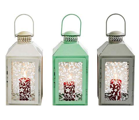 Product, Font, Glass, Liquid, Teal, Metal, Light fixture, Lantern, Silver, Home accessories,