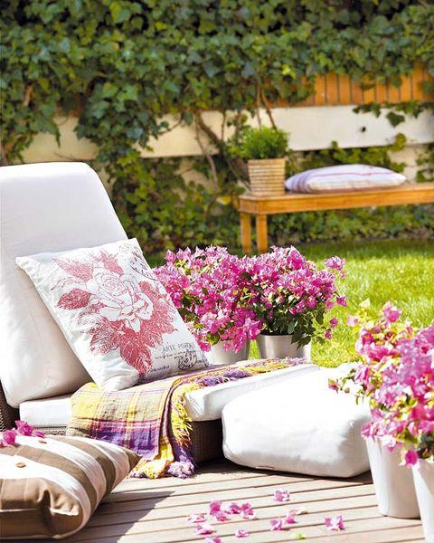 Pink, Purple, Room, Furniture, Interior design, Table, Living room, Magenta, Home, Textile,