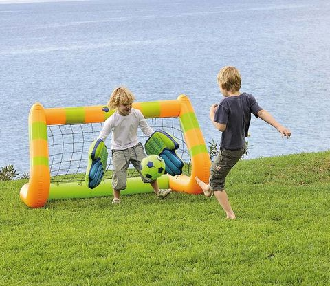 Fun, Leisure, Inflatable, People in nature, Summer, Child, Sitting, Vacation, Aqua, Comfort,