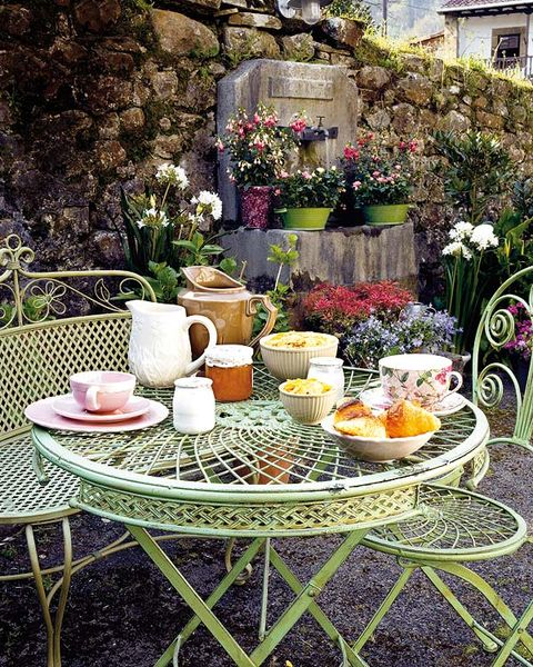Serveware, Plant, Furniture, Table, Dishware, Tableware, Outdoor table, Home accessories, Linens, Flowerpot,