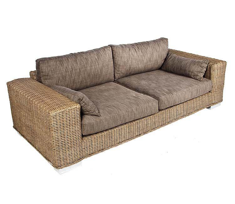 Muebles de fibra natural