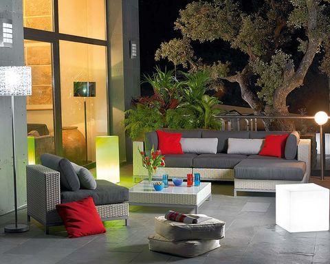 Prepara la terraza con los nuevos muebles de exterior