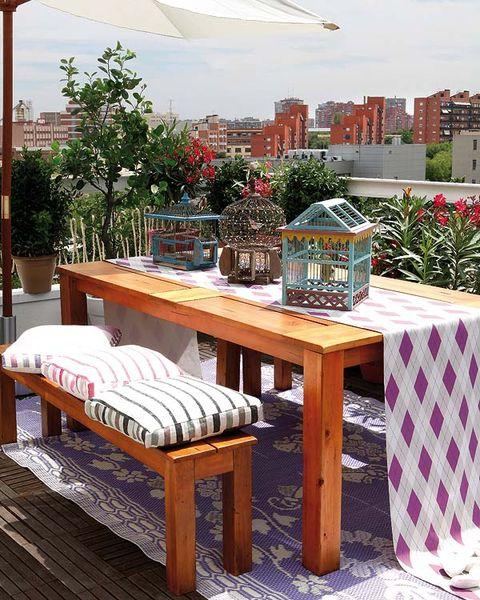 Wood, Hardwood, Furniture, Table, Outdoor furniture, Outdoor table, Wood stain, Bottle, Glass bottle, Wood flooring,