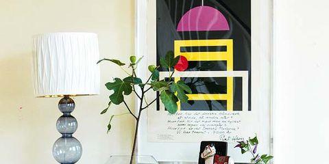 Room, Interior design, Wall, Turquoise, Teal, Interior design, Home, Shelving, Aqua, Houseplant,