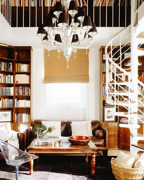 Room, Interior design, Wood, Shelf, Furniture, Ceiling fixture, Light fixture, Ceiling, Interior design, Shelving,