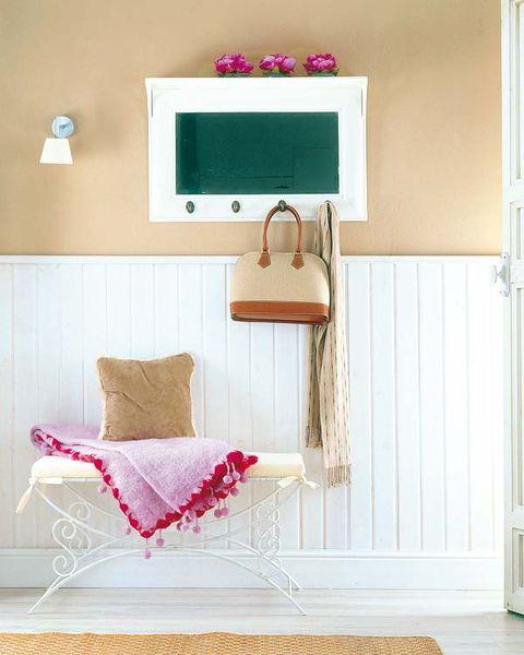 Product, Room, Textile, Interior design, Wall, Interior design, Purple, Display device, Home accessories, Magenta,