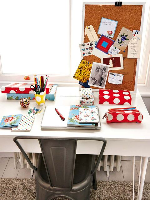 Table, Furniture, Room, Tablecloth, Desk, Writing desk, Linens, Home accessories, Collection, Creative arts,