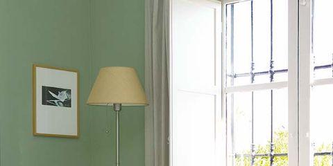Wood, Room, Floor, Interior design, Window, Flooring, Furniture, Lampshade, Interior design, Lamp,
