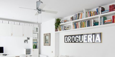 Interior design, Room, Living room, Furniture, Table, Home, Wall, White, Couch, Ceiling,