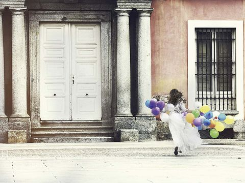 Balloon, Door, Home door, Fixture, Party supply, Lavender, Door handle, Column, Molding,