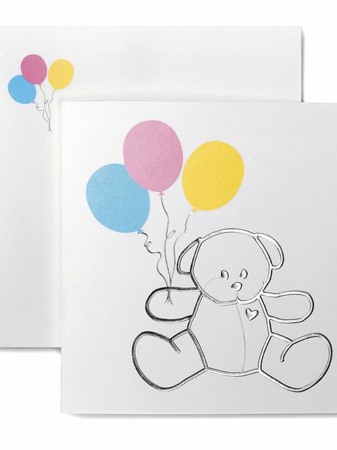 Paper product, Design, Illustration, Party supply, Balloon, Drawing, Paint, Child art, Paper, Line art,